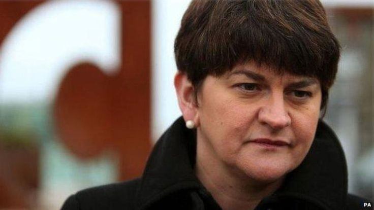 DUP leader Arlene Foster compares Sinn Féin to a hungry crocodile that should not be fed.