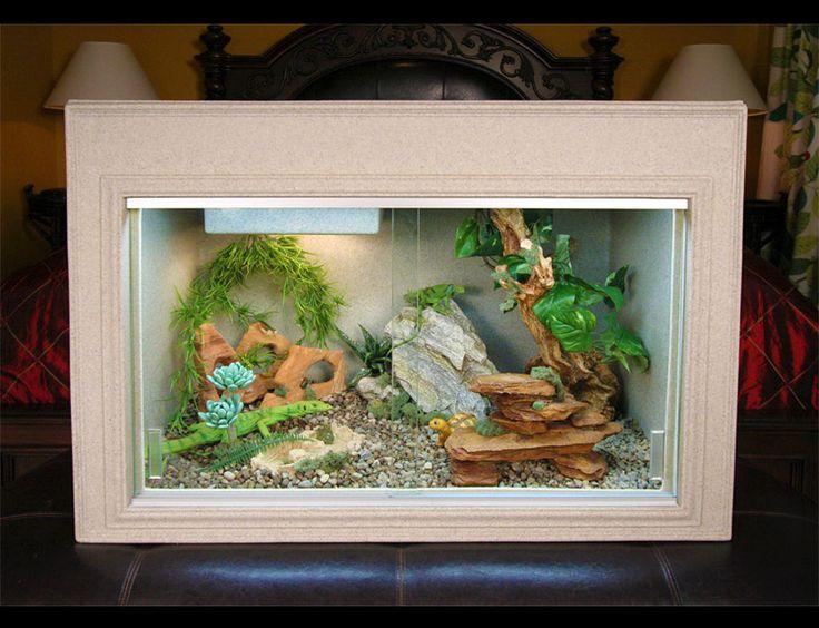 Iguana Cage - Bearded Dragon Cage - Plastic Cage - Reptile Supplies - Reptile Accessories - Reptiles - Snake Cage - Animal Cages - cage - cages - Plastic cages