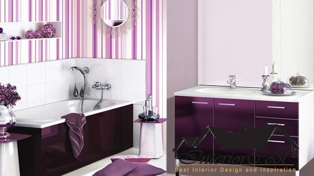 bathroom color ideas purple