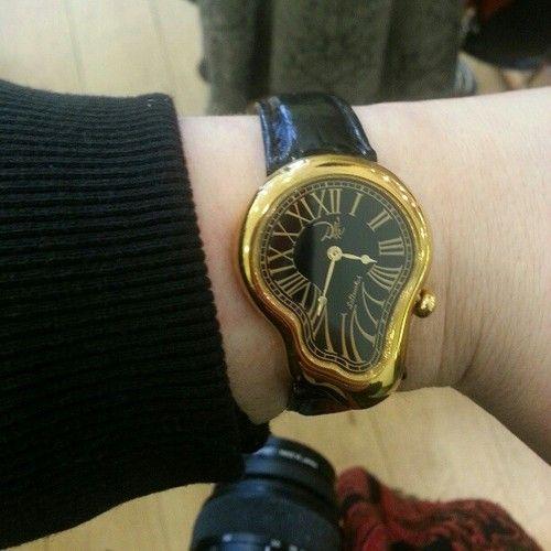 Salvador Dali Melting Wrist Watch March 2017