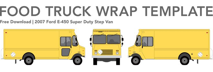 truck wrap templates - free food truck wrap template studiofluid food truck