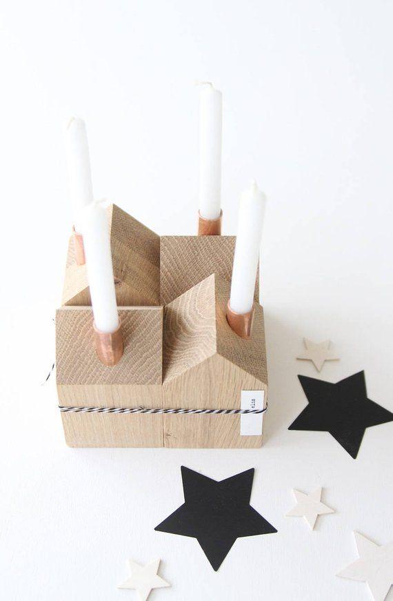 adventskranz kerzenhaus holz basteln weihnachten weihnachten holz und weihnachtspyramide modern. Black Bedroom Furniture Sets. Home Design Ideas