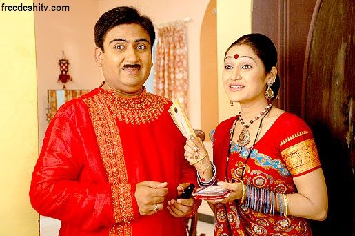 """Taarak Mehta Ka Ooltah Chashmah 1st August 2014 Neha Sharma recently visited the sets of 'Taarak Mehta Ka Oolta Chashmah' to promote their upcoming movie – """"Youngistaan"""". Initially Jackky was supposed to be interviewed by Popatlal but due to some mix up, Aatmaram Bhide, secretary of Gokuldham society had to pose as Popatlal and interview Jackky which turned into a comedy of errors. Everyone on the sets had fun while shooting with Jackky & Neha."""