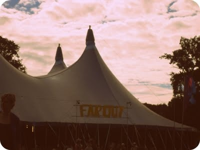green man festival tent