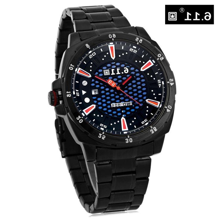 26.50$  Buy now - https://alitems.com/g/1e8d114494b01f4c715516525dc3e8/?i=5&ulp=https%3A%2F%2Fwww.aliexpress.com%2Fitem%2F6-11-Men-Dress-Watch-Photovoltaic-Energy-Quartz-Watch-Mineral-Reinforced-Glass-Calendar-Wristwatch%2F32716090028.html - 6.11 Men Dress Watch Photovoltaic Energy Quartz Watch Mineral Reinforced Glass Calendar Wristwatch 26.50$