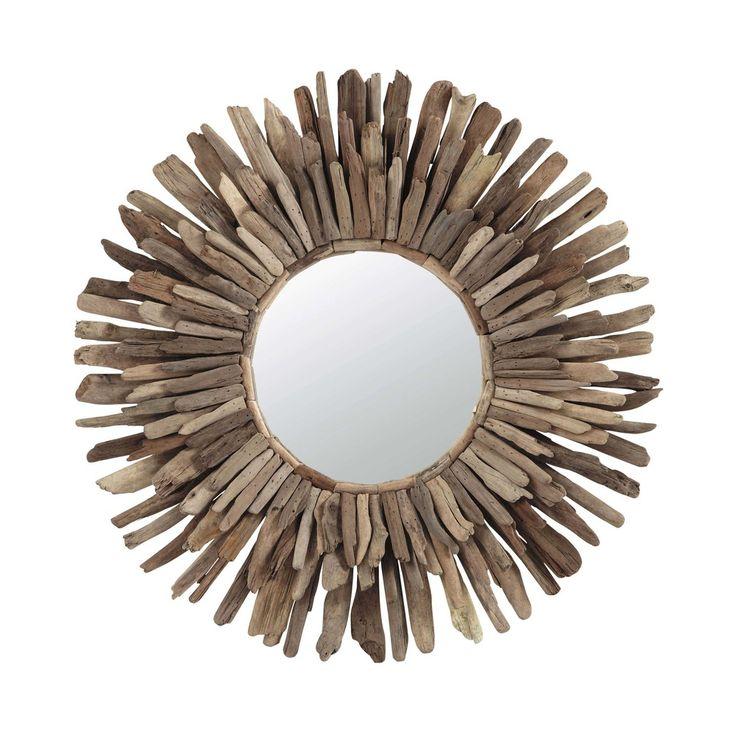 17 meilleures id es propos de miroir en bois flott sur - Miroir en bois flotte ...