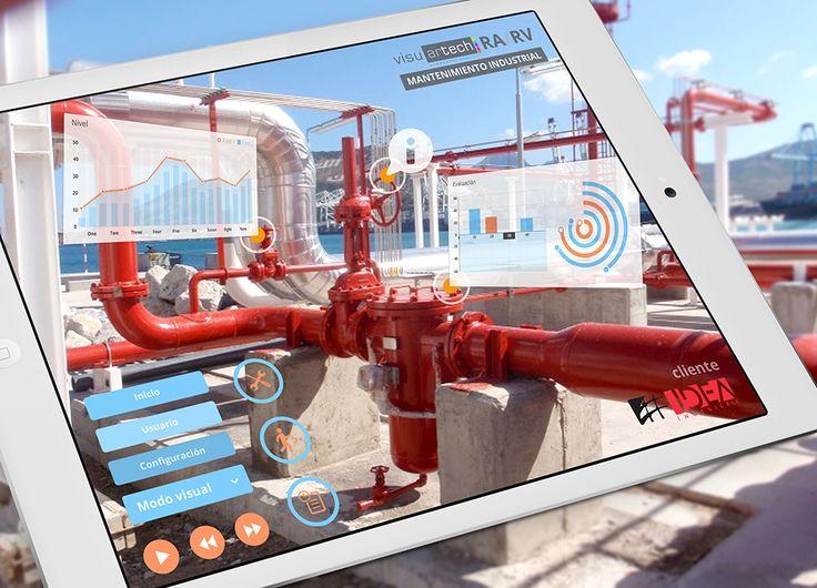 La aplicación de RA/RV para mantenimiento y trining industrial que está revolucionando el sector