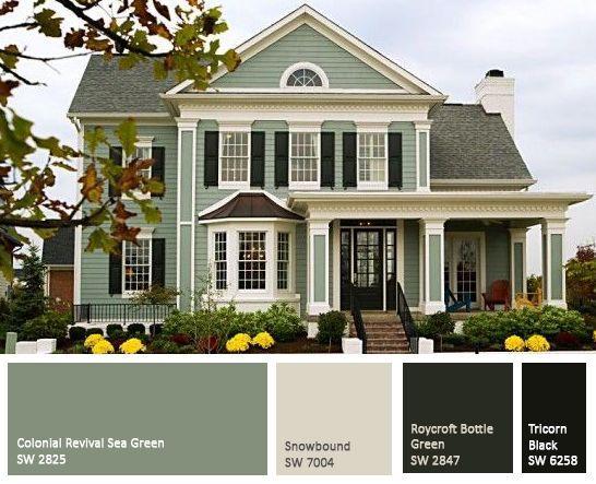 Enjoyable 17 Best Ideas About Exterior House Colors On Pinterest Home Largest Home Design Picture Inspirations Pitcheantrous