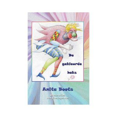 De gekleurde heks - Anita Boots  Heks Niessela is radeloos want al haar toverspreuken mislukken. Ze niest als ze tovert waardoor alles een gekke kleur krijgt. Ze gaat naar heks Groezel en hoopt dat zij haar kan helpen.  EUR 13.99  Meer informatie