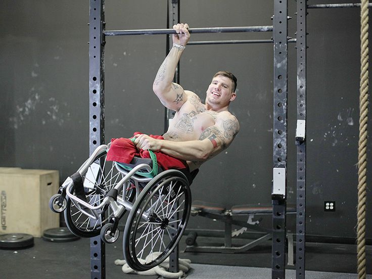 How One Double Amputee Is Making CrossFit Accessible for Anyone  Athletes, Bodywatch, Gym. >>> See it. Believe it. Do it. Watch thousands of spinal cord injury videos at SPINALpedia.com