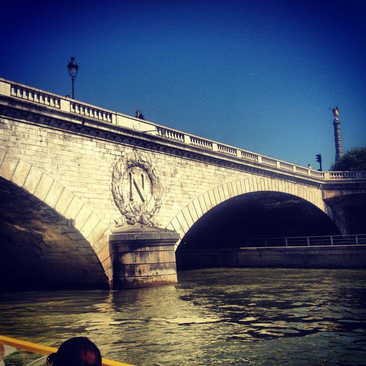 La Seine Paris France #Parislove #France #Paris