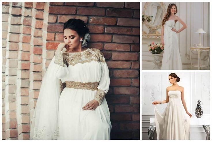 красивые невесты облаченные в греческие свадебные платья