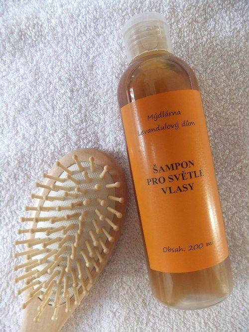 Šampon pro světlé vlasy BIO 200 ml