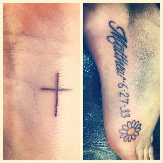 Tattoo Quotes With Cross: 1000+ Ideas About Small Cross Tattoos On Pinterest