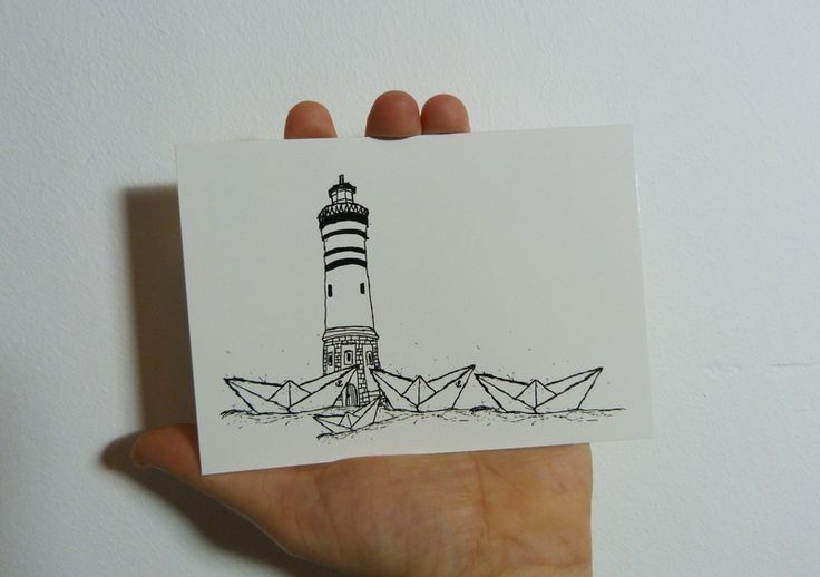 Other – Paperharbour Postcard - A6 – a unique product by ilovemixtapes on DaWanda