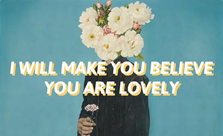 "Lovely // twenty one pilots- first time I've heard it I thought is says ""I'll make you believe you're lonely"""