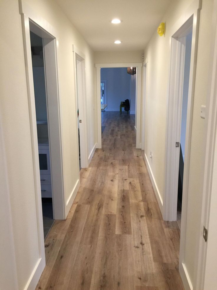 Aged Hickory Click Together Vinyl Flooring Commercial
