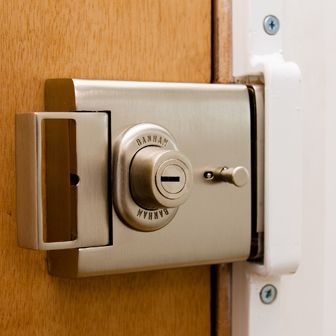 16 best images about home security door locks on pinterest for Best locks for home security