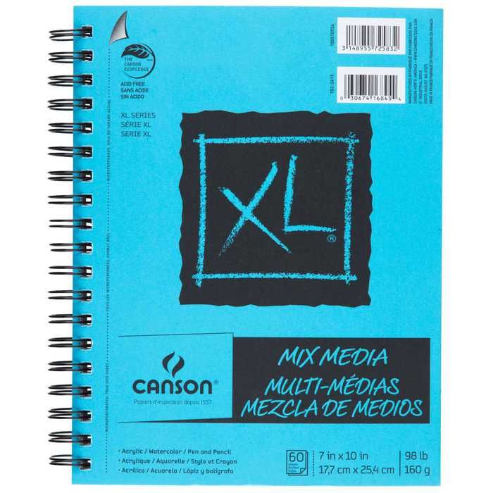 Canson Xl Series Mix Media Pad Canson Xl Mix Media Paper Pad Marker Paper Lettering Mixed