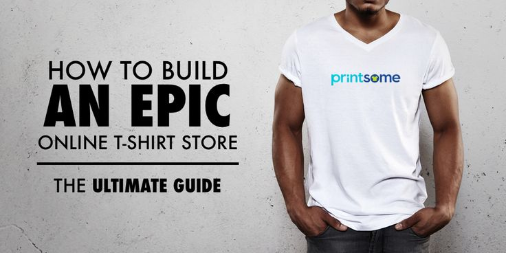 How to build an online t-shirt store