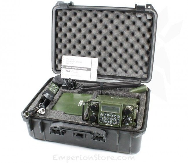 PRC 117 MP Deluxe Manpack Model - TRI