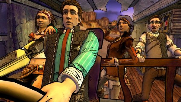 Although it may have began before Minecraft: Story Mode and Telltale's Game of Thrones, Tales from the Borderlands has yet to be given a retail release while the other two titles have.