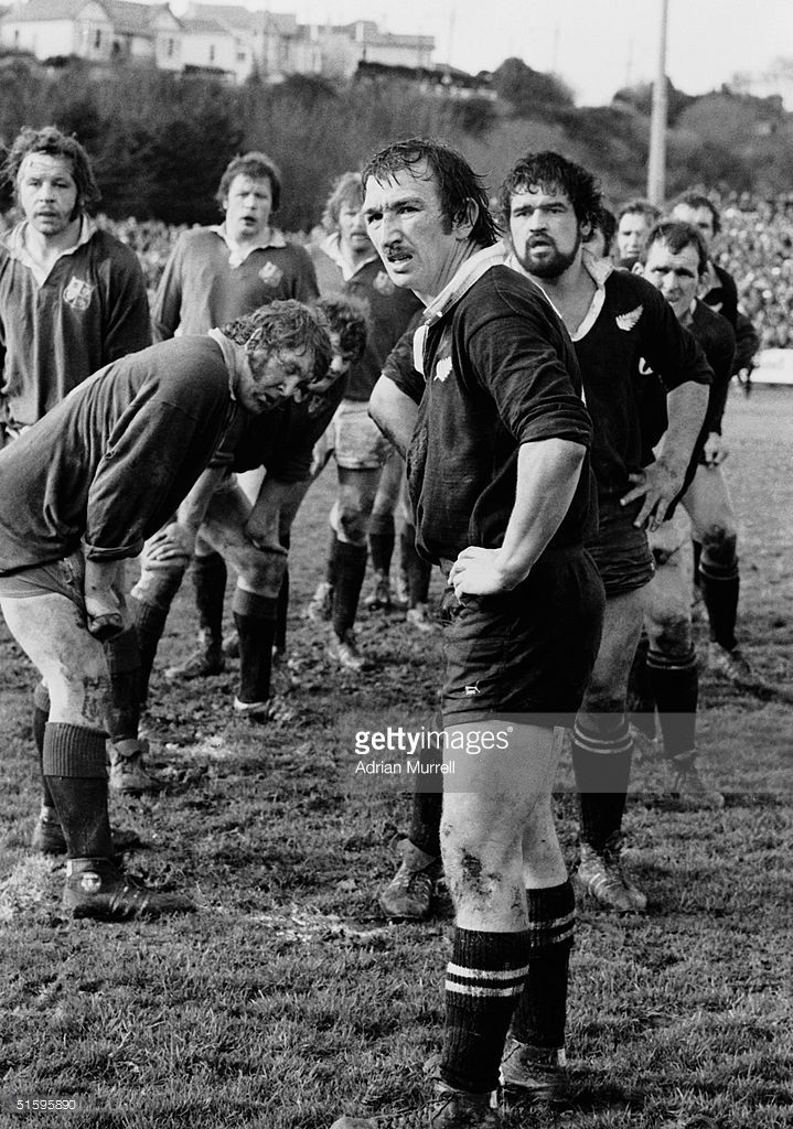 Tane Norton the New Zealand Captain pictured during the Third Test Match between New Zealand and the British Lions on July 9, 1977 in Christchurch, New Zealand. New Zealand won the match 19 - 7.