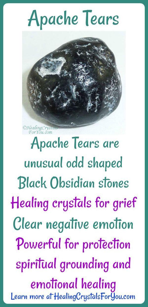 Apache Tears are strange out-of-shape Black Obsidian ...