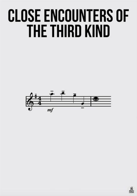 Close Encounters of the Third Kind (1977) ~ Minimal Movie Poster by Aleksandar Pesevski #amusementphile