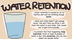 How to Reduce Water Retention
