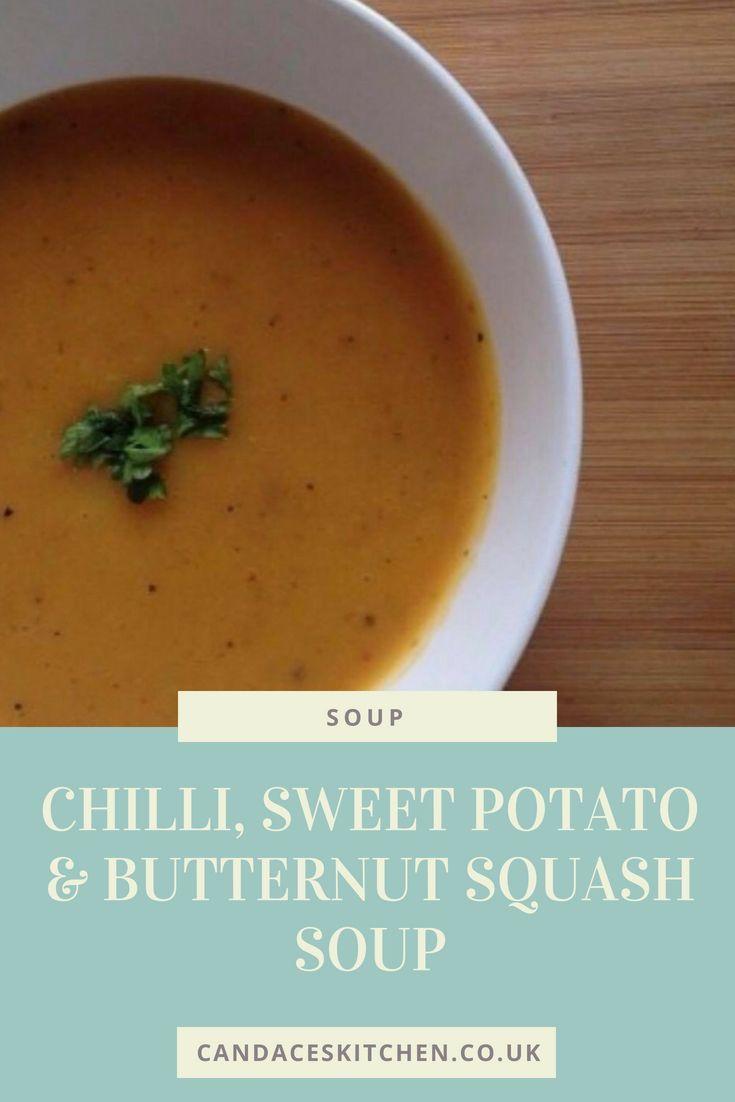 Chilli Sweet Potato And Butternut Squash Soup Chilli Soup