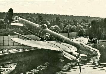 35 Squadron TL-R shot down on 27/28th April 1944 with the loss of one crewman killed. 35 Sqdn was a Pathfinder unit (8 Group) based at RAF Graveley. The aircraft was recovered in 1953 and subsequently scrapped in 1955