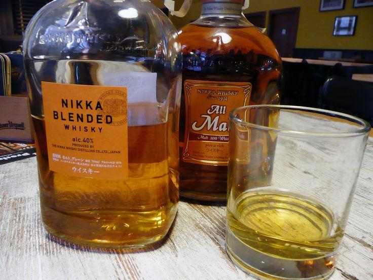 Japan Whiskey NIKKA All Malt  Japan Whiskey NIKKA Blended  v restauraci U Kaštanů Jarov http://www.ukastanu.cz/jarov.html