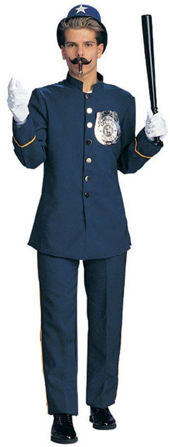 Adult Keystone Cop Costume - CandyAppleCostumes.com