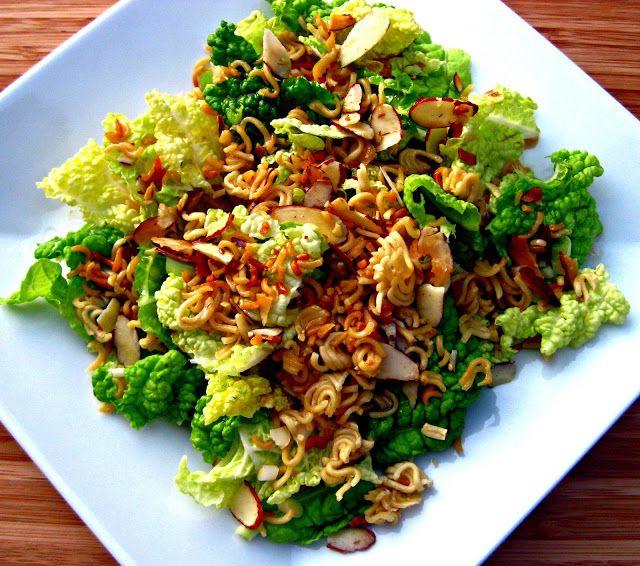 Karis' Kitchen | A Vegetarian Food Blog: Napa Cabbage Salad