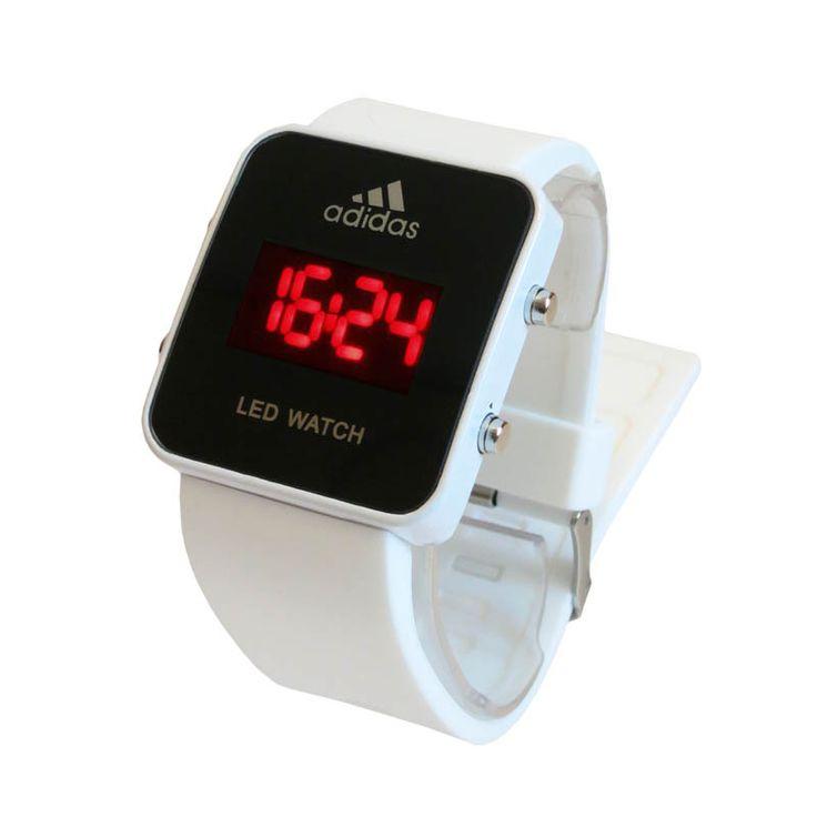 Часы женские  led Adidas Watch White