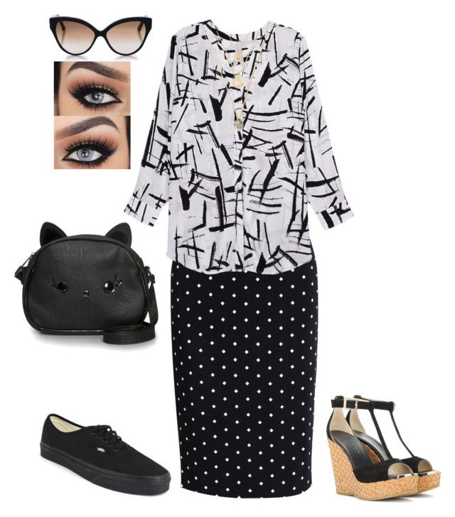 """""""Mixed print full figured outfit"""" by makeuphobbyist on Polyvore featuring Givenchy, Melissa McCarthy Seven7, Loungefly, Cutler and Gross, Jimmy Choo, Vans and plus size clothing"""