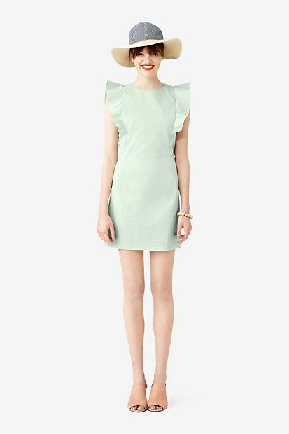 Ruffle Sleeve Dress / Kate Spade