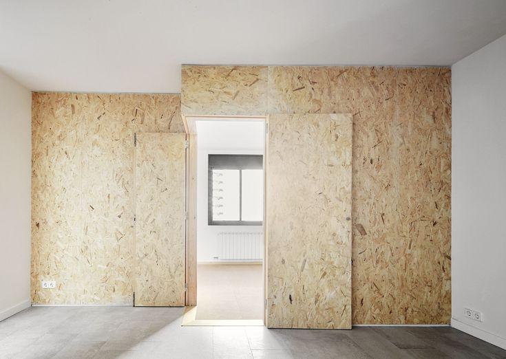 124 best osb images on pinterest woodworking bricolage - Osb peint en blanc ...