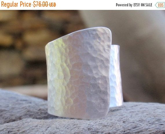 SALE 10% OFF handmade sterling silver ring  hammered by preciousjd