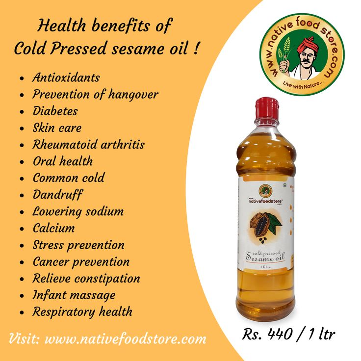 Cold Pressed Sesame Oil Now Available Online. FREE HOME