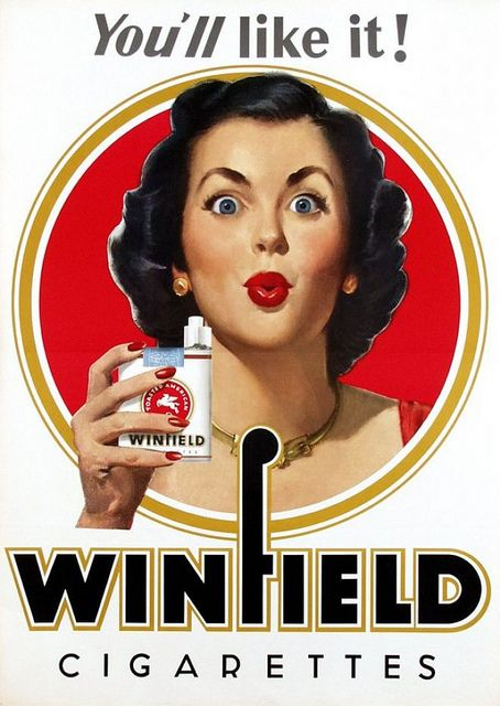 when your competition is WINSTON and CHESTERFIELD, you need to come out with a catchy brand like.................