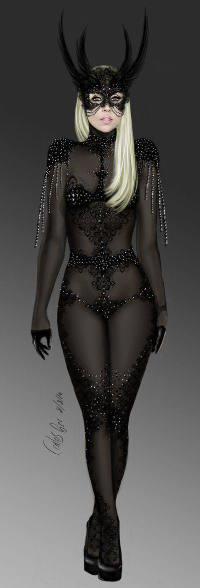 Black demon costume / carlos0003