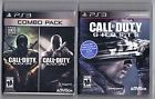 Lot of 2 PS3 Playstation Games Call of Duty Black Ops Ghosts  Price 8.5 USD 14 Bids. End Time: 2017-02-22 01:20:44 PDT