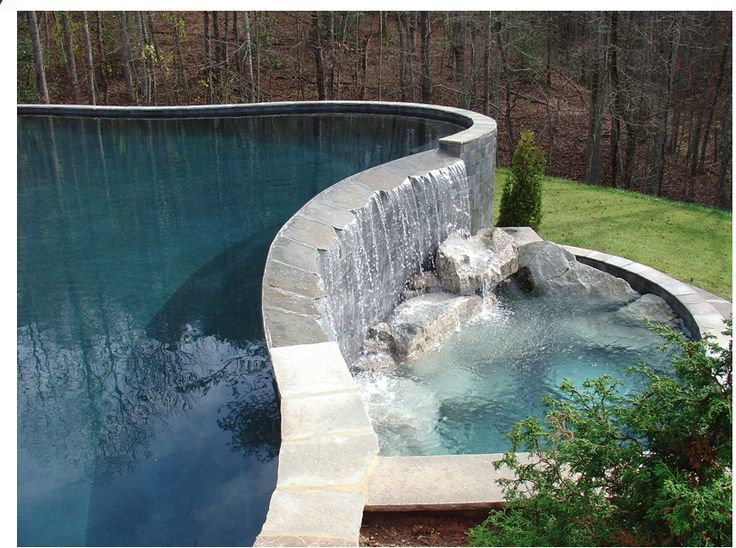 1000 images about outdoor ambience on pinterest fire for Garden pond overflow design