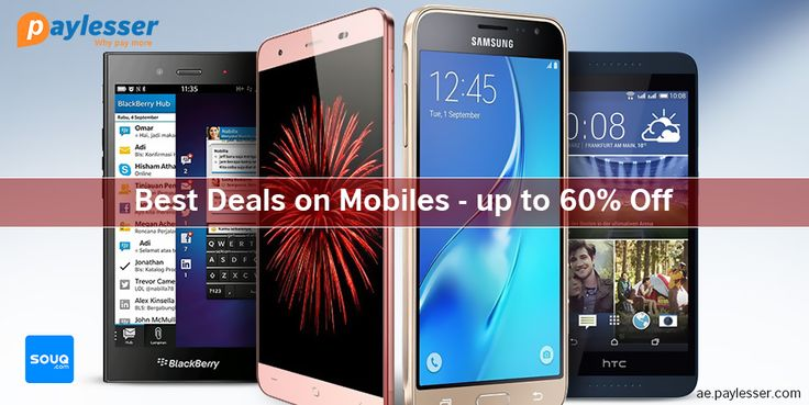 Best deals on mobiles-UPTO 60% OFF .#Souq #Offer #smartphone #paylesser Why pay more?