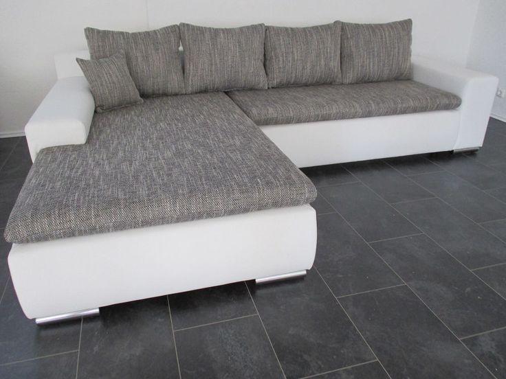 AKTION NEU SOFA COuch Wohnlandschaft KORPUS Lederimitat NEU 17 Lagerverkauf  | Pinterest | EBay