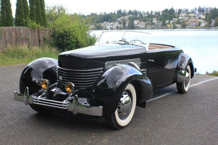 Cord Cabriolet 1937 Tacoma, WA, United States. New and used Luxury cars for sale…  – 1930s