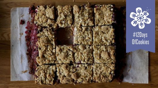Roasted Cranberry Bars from the Tasting Table Test Kitchen