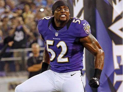Former American football linebacker - Ray Lewis -